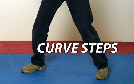 Curve Step Footwork in JKD