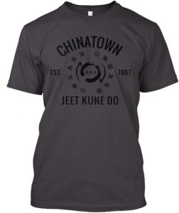 Charcoal Chinatown JKD T-Shirt - 1967 Series