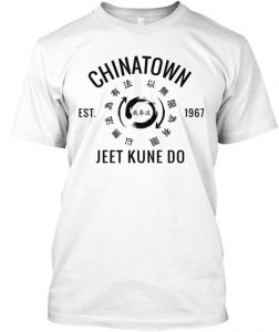 White Chinatown JKD T-Shirt - 1967 Series