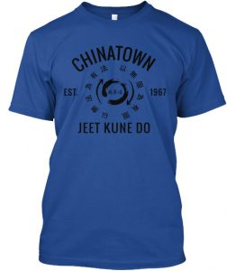 Blue Chinatown JKD T-Shirt - 1967 Series